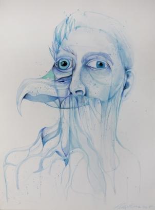 man-bird-blue