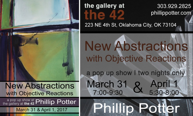 New Abstractions by Phillip Potter