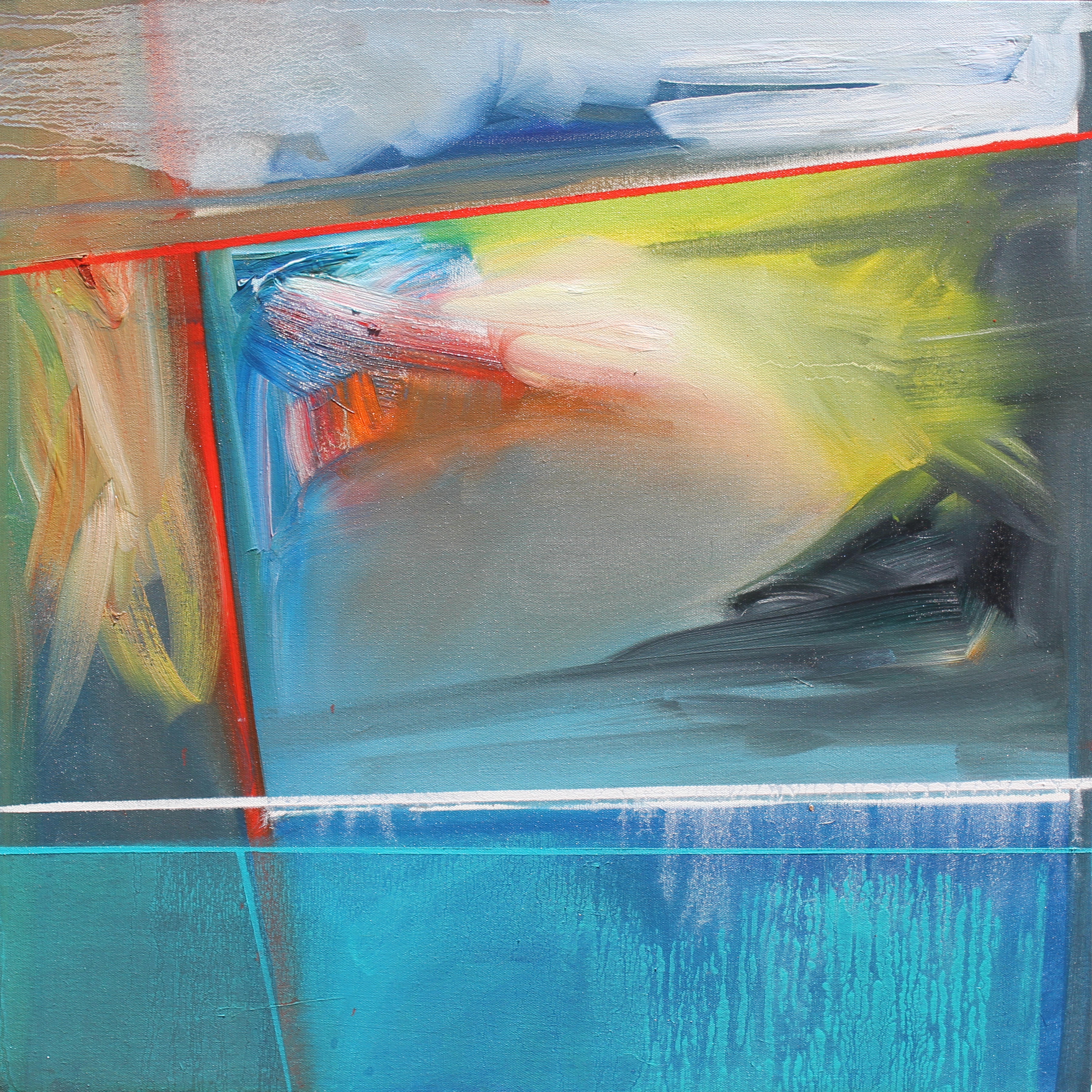 Method and Season No. 5 24x24 Oil on Canvas Phillip Potter