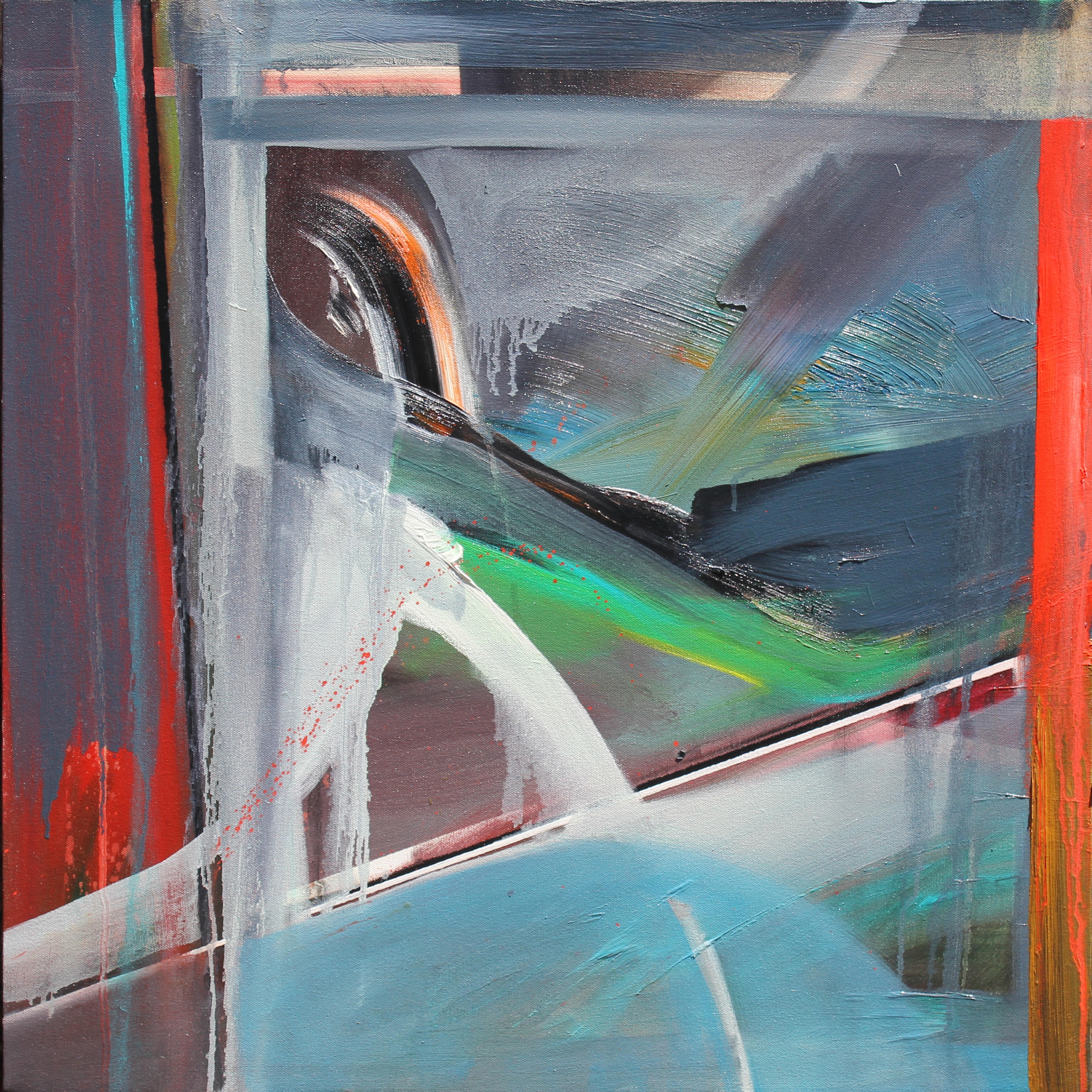 Method and Season No. 6 24x24 Oil on Canvas Phillip Potter