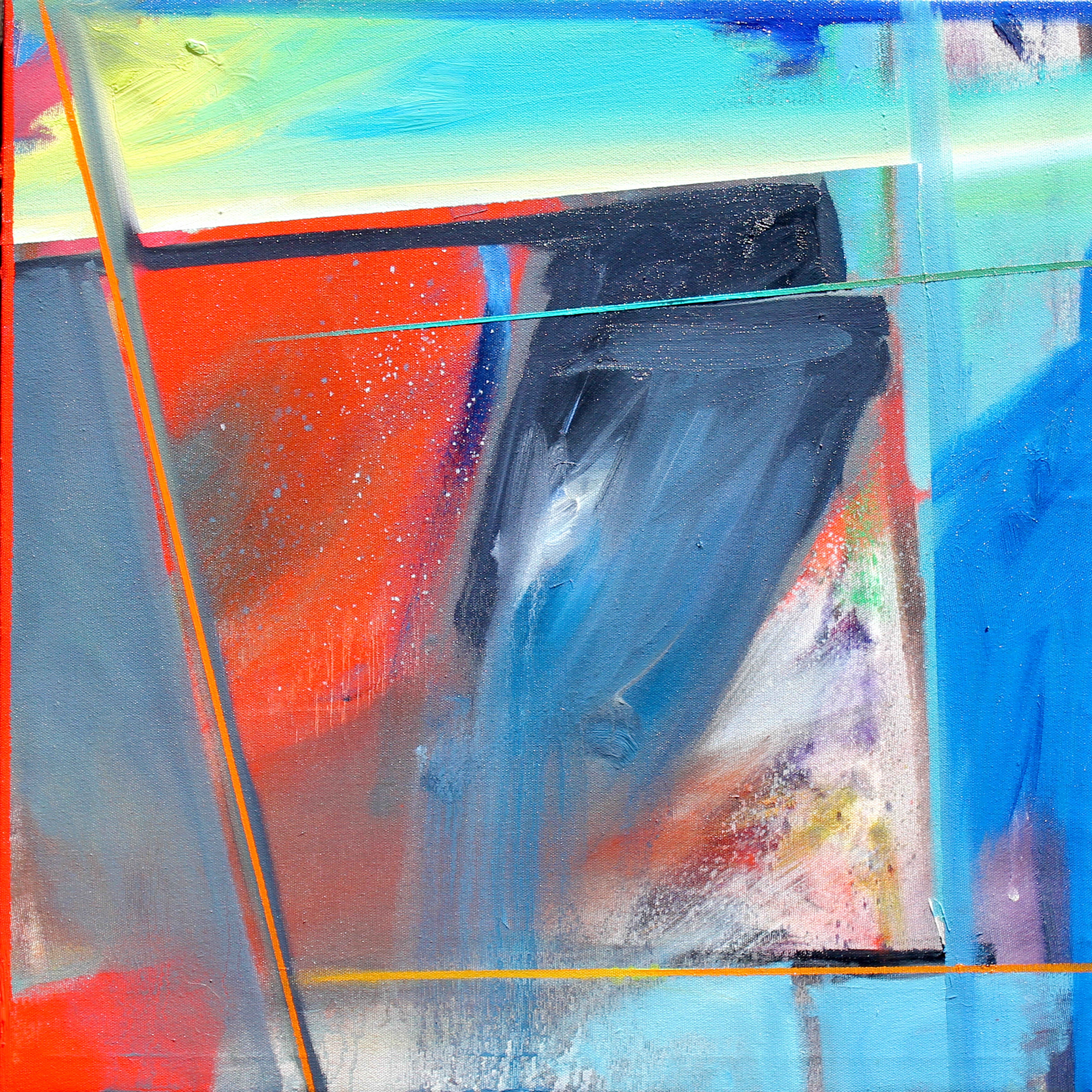 Method and Season No. 8 21x21 Oil on Canvas Phillip Potter