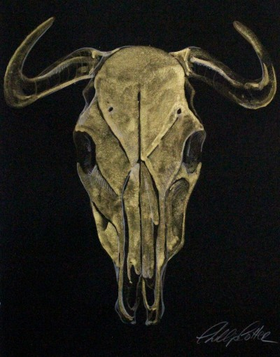 "Phillip Potter Golden Calf #2 11""x14"""