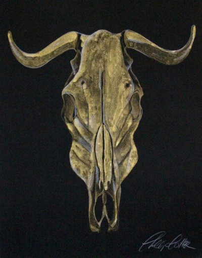 "Phillip Potter golden calf #3 11""x14"""