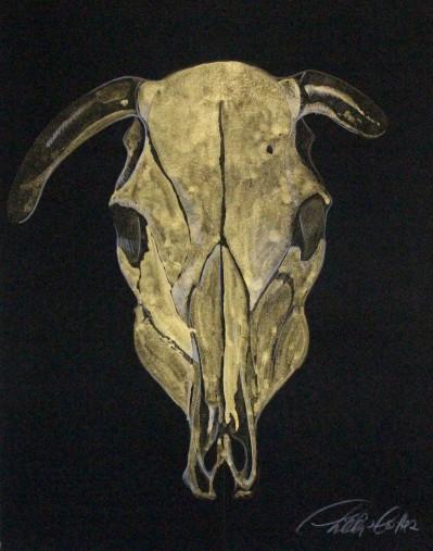"Phillip Potter golden calf #4 11""x14"""