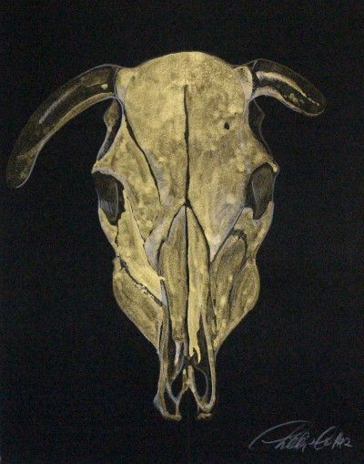 "Phillip Potter golden calf #4 11""x14"""