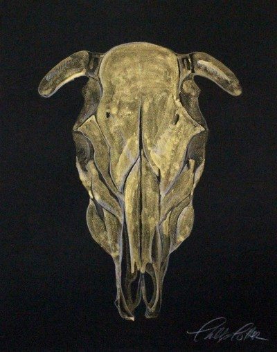 "Phillip Potter golden calf #5 11""x14"""